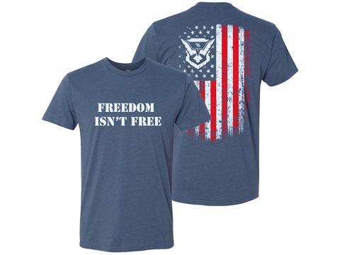 Bunker Branding Co. Demolition Ranch Freedom Isn't Free T Shirt (Size: Medium)
