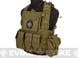 Matrix / Lancer Tactical CA307 Modular Chest Rig - Tan