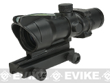 Matrix 4x32 Magnification Fiber Optic Illuminated Rifle Scope (Color: Black)