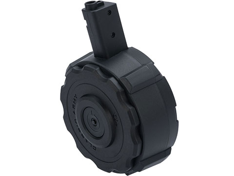 Classic Army 1400rd High Capacity Drum Magazine for Nemesis X9 Airsoft AEG Rifles