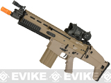 FN Herstal Full Metal SCAR Heavy CQC Airsoft AEG Rifle by Clssic Army - Black