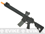 Classic Army Full Metal M4 Airsoft AEG Rifle with 13 KeyMod Handguard (Color: Black)