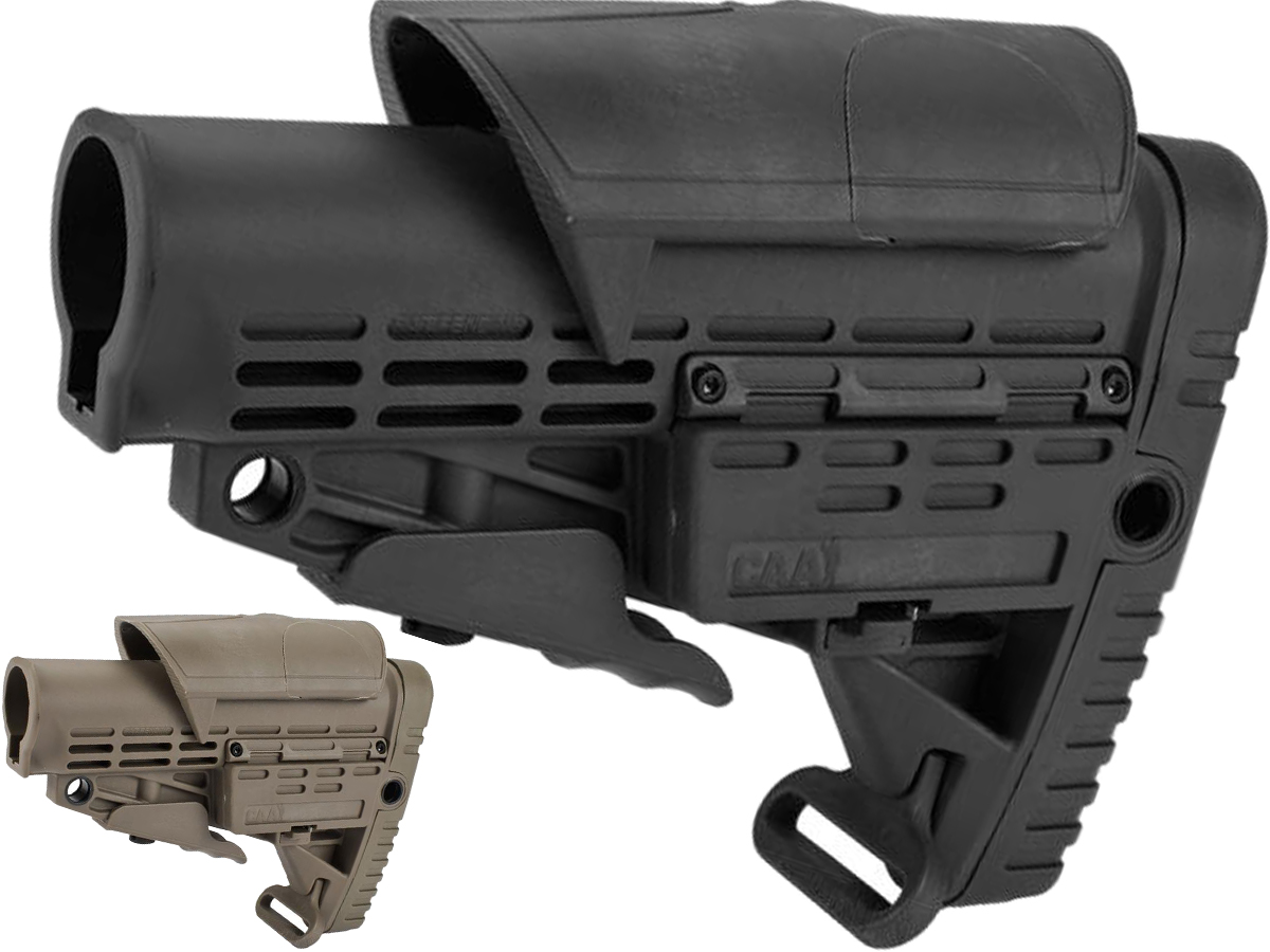 CAA Airsoft CBS+ACP M4 Airsoft AEG Rifle Stock (Color: Black)