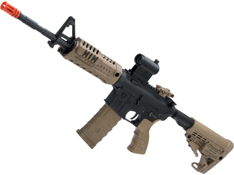 CAA Licensed M4 Airsoft AEG Rifle by King Arms (Model: Carbine / Dark Earth)