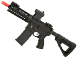 Command Arms Airsoft CAA M4 CQB Airsoft AEG Rifle (Color: Black)