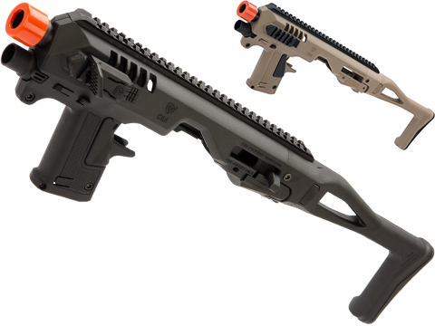 CAA Airsoft Micro Roni Pistol Carbine Conversion Kit for Elite Force GLOCK 17 and G-Series GBB Pistols
