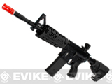 King Arms CAA Licensed M4-S1 Airsoft AEG Rifle (Color: Black / Carbine)