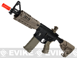 CAA Licensed M4-S1 Carbine CQB Full Metal Airsoft AEG Rifle by King Arms (Color: Dark Earth)