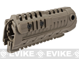 CAA Airsoft M4S1 Handguard Rail System (Color: Dark Earth)