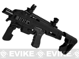 Pre-Order Estimated Arrival: 07/2013 --- Evike Custom CAA Roni G-Series Carbine Airsoft GBB Pistol - Black