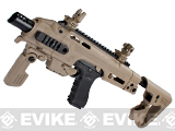 Evike Custom CAA Roni G-Series Carbine Airsoft GBB Pistol - Dark Earth
