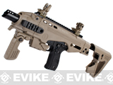 CAA Airsoft Roni Pistol Carbine Conversion Kit for P226 Airsoft GBB Pistols - Dark Earth