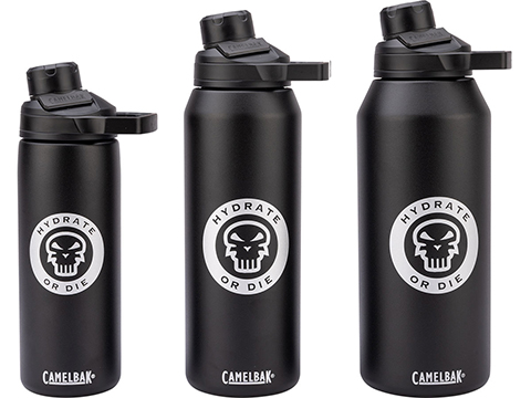 CamelBak Chute Mag Vacuum Insulated Stainless Steel Water Bottle (Size: 40oz / Black Hydrate or Die)