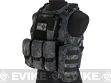 Avengers Military Style MOD-II Quick Release Body Armor Vest (Color: Urban Serpent)