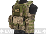 Avengers Military Style MOD-II Quick Release Body Armor Vest (Color: Forest Serpent)