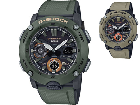 Casio G-Shock GA2000 Men's Watch