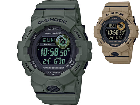 Casio G-SHOCK Power Trainer Bluetooth Step-Tracking Watch