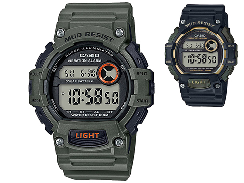 Casio TRT110H Men's Digital Mud Resistant Digital Watch