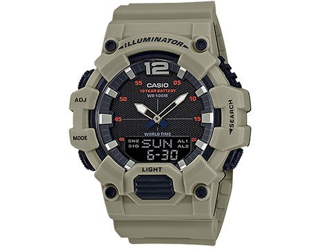 Casio HDC700 Men's Analog-Digital World Time Watch