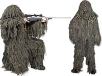 Ghillie Suits and Concealment