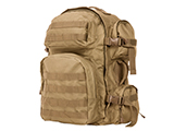 NcSTAR Tactical Assault Pack / MOLLE Backpack (Color: Tan)