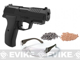 Crosman Iceman CO2 Powered Semi-Auto Air Gun Pistol Kit