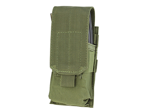 Condor Tactical MOLLE Ready Single M4 M16 Magazine Pouch (Color: OD Green)