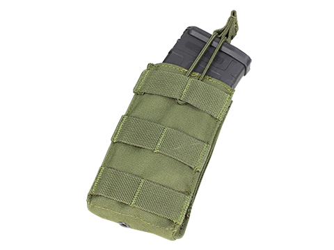 Condor Single Open Top Magazine Pouch for M4/M16 Magazines (Color: OD Green)