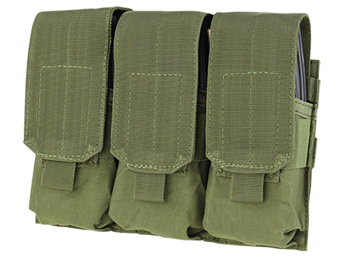 Condor Triple M4 / G36 MOLLE Ready Magazine Pouch (Color: OD Green)