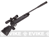 Crosman Nitro Venom Dusk Nitro Piston Powered Hunting Airgun (.177cal AIRGUN NOT AIRSOFT) - Black