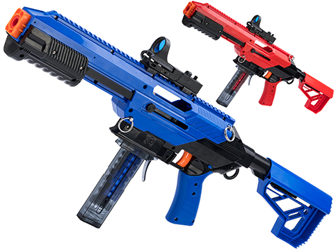 Jet Blaster CEDA Omni Foam Blaster w/ Katana Short Dart Adapter (Model: Blue/Black)