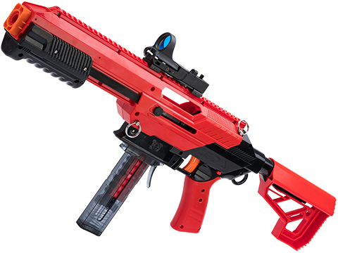 (FREEDOM DEALS!) Jet Blaster CEDA Omni Foam Blaster w/ Katana Short Dart Adapter (Model: Red/Black)