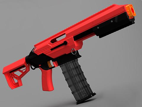 Jet Blaster CEDA Foam Blaster Dart Gun (Model: Omni / Red)