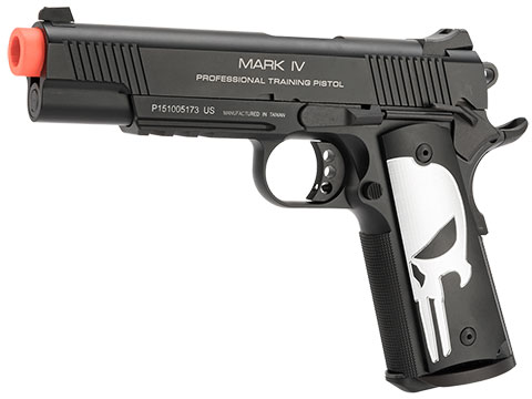 Evike.com KWA M1911 Butcher Angel Custom Enhanced Gas Blowback Airsoft Pistol (Model: MKIV PTP)