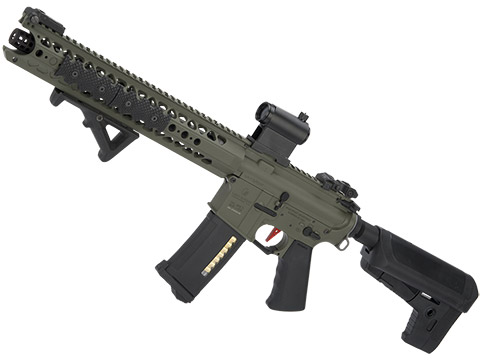 Umbrella Armory Krytac LVOA (Color: Foliage Green / 350 FPS 40 RPS / CQBR w/ 2xBattery)