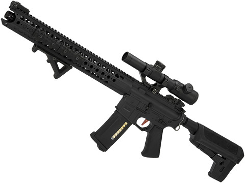 Umbrella Armory Krytac LVOA (Color: Black / 500 FPS 20 RPS / DMR / Semi Only w/ 2xBattery)