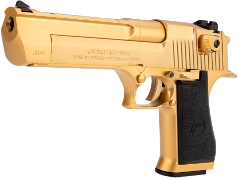 WE-Tech Desert Eagle .50 AE Full Metal Gas Blowback Airsoft Pistol by Cybergun (Color: Gold)
