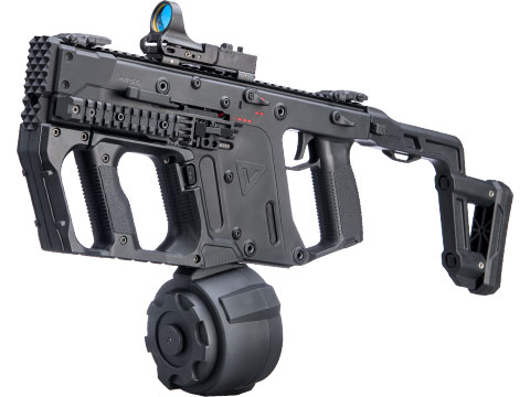 Evike.com Vault Collection Laylax / Prometheus JDM Custom Krytac KRISS Vector Airsoft AEG SMG Rifle (Color: Black)