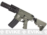 Evike Custom G&P M4 Full Metal Airsoft AEG Rifle - Patriot / Foliage Green