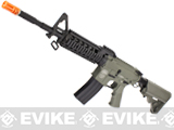 Evike Custom G&P M4 Full Metal Airsoft AEG Rifle - RAS-II / Foliage Green