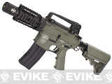 Evike Custom G&P M4 Full Metal Airsoft AEG Rifle - Stubby Killer / Foliage Green