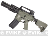 Evike Custom Class I G&P M4 Airsoft AEG Rifle - Fighting Cat  (Package: Foliage Green / Gun Only)