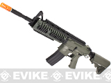 Evike Custom G&P M4 Full Metal Airsoft AEG Rifle - CASV Custom / Foliage Green