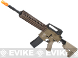 Evike Custom Class I G&P M4 Airsoft AEG Rifle - DD Mk18 RIS-II / Tan