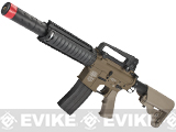 Evike Custom Class I G&P M4 CQB-R Airsoft AEG Rifle w/ Crane Stock - Dark Earth