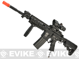 Evike Class II Custom G&P PolarStar M4 Carbine URX RAS Electro-Pneumatic Airsoft Rifle - Black