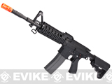 Evike Class I Custom G&G Full Metal M4 RASII Airsoft AEG Rifle w/ Crane Stock - Black