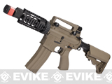 Evike Class I Custom G&G Full Metal M4 Tank Airsoft AEG Rifle w/ Crane Stock - Tan
