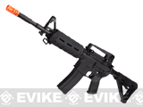 Evike Custom G&G Full Metal M4 Magpul MOE Airsoft AEG Rifle - Black