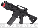 Evike Custom G&G Full Metal M4 Patriot Airsoft AEG Rifle w/ LE Stock - Black